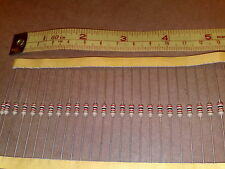 "2K 5% 0.5W * 500 pcs ""Old Style"" 1/2W CARBON FILM RESISTORS *  Readable Bands !"