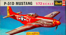 Vintage Revell 1/72 P51-D Mustang Model Kit. H-619 .1960's. Complete. Untouched.
