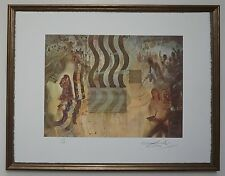 "Salvador Dali ""The apotheosis of dollars"" Lithograph Limited 2000 pcs."