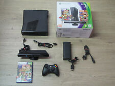 Xbox 360 Konsole Slim Schwarz 4GB Kinect Adventures Edition in *OVP*