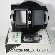 Horseman Rotary Back Type 2 22502 [UnUsed]  For Linhof Wista