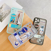 Cartoon Astronaut Frosted Phone Case Cover For iPhone 11 Pro Max X XR Xs 7 8Plus