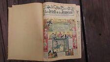 "1912-1913 ""LE JEUDI DE LA JEUNESSE"" BOUND VOLUME FRENCH COMIC JULES TALLANDIER"