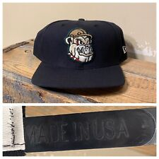 Vintage New Era MILB Mahoning Valley Scrappers Snapback Hat Made in USA baseball