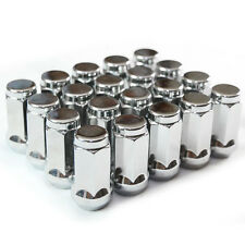 "9/16"" Chrome Long Bulge Acorn 20 Lug Nuts 13/16"" Hex 1.65"" Dodge"