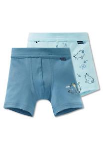 Schiesser Boys Shorts Twin Pack 104 116 128 140 Briefs Underpants