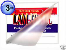 ( 200 pc ) Hot 4x6 Photo LAM-IT-ALL Laminating Pouches 3 Mil 4-1/4 x 6-1/4 Clear