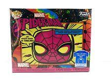 Funko Pop Spiderman Black Light Large Tee Target Bundle
