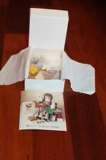 American Girl Doll Molly's RETIRED & RARE First Version Brown Bag Lunch, Unused!