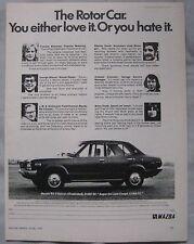 1974 Mazda RX-3 Original advert No.1