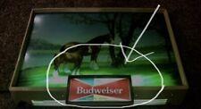 """REPLACEMENT BUDWEISER SIGN INSERT 6 3/4"""" x 2 7/8"""" NEW"""