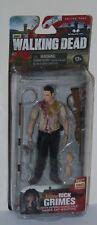 The Walking Dead Rick Grimes figura exclusiva serie 4 MCFARLANE TOYS Nuevo Y en Caja Especial