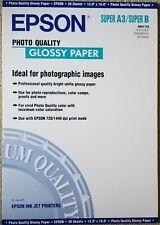 "EPSON Photo Quality 13"" x 19"" 20 Sheets S041133"
