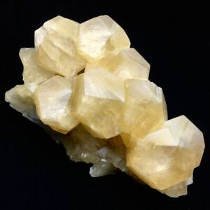 3670g Larger Particles Translucent Golden Yellow Mushroom Calcite Crystal/China
