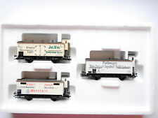 "Set ""Fleischtransport"" meat transport freight car, Märklin #48922 1:87 H0 boxed"