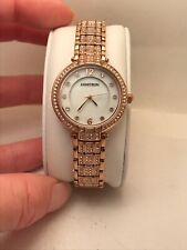WOMEN'S ARMITRON ANALOG DRESS WATCH ROSE GOLD TONE 75/5430MPRG MOP DIAL HM