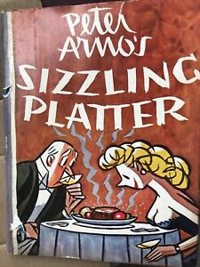 Sizzling Platter PETER ARNO 1949 The New Yorker 1st Edition