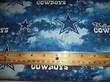 DALLAS COWBOYS PRINT FABRIC - 9+ YARDS IN STOCK - BY THE YARD