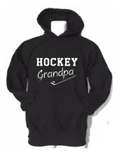 "ADULT HOCKEY grandpa custom gildan hooded sweatshirt ""HOCKEY grandpa HOODIE"
