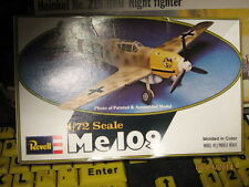 Revell WWII German ME-109 Fighter Plane -1/72 Scale-
