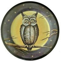 "Halloween Spooky Owl Dinner Plates Set of 6 Melamine 11"" Spooky Halloween Party"