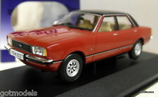 Vanguards 1/43 Scale VA11910A Ford Cortina MK4 2.0 Ghia Jupiter red RHD diecast