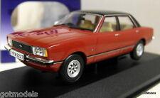 VANGUARDS Échelle 1/43 VA11910A Ford Cortina MK4 2.0 Ghia Jupiter Rouge RHD Diecast