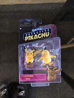 Pokemon Detective Pikachu Movie Set of 2 figures - Pikachu & Psyduck