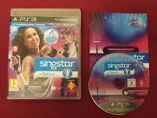 SINGSTAR + DANCE PS3 Complete PAL FREE UK POST