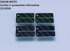 213.0536 SET LAMELLE IN CARBONIO POLINI PIAGGIO MC2 50 (1998) - NRG MC3 H2O
