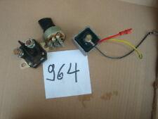 Rasentraktor Aufsitzmäher MTD Zündschloss Schlüssel Magnetschalter batterie regl