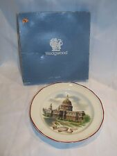 Rare Wedgwood St Paul'S Cathedral Plate England Barlaston Etruria W/ Box Paul