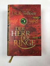 Tolkien HERR DER RINGE LUXUSAUSGABE Krege 2 Karten GEBUNDEN Bertelsmann Verlag