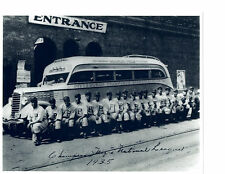 1935 Pittsburgh Crawfords Nl Champs Baseball 8X10 Team Photo Gibson Paige Bell
