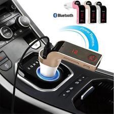 Wireless Car Kit Bluetooth Mp3 Player Fm Transmitter Radio Adapter Usb Charger