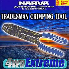 NARVA 56504BL TRADESMAN CRIMPING TOOL, WIRE STRIPPER CRIMPER STRIPPING CUTTER
