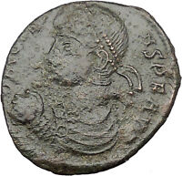 Constans son of Constantine the Great 348AD Large AE2 Ancient Roman Coin i32183