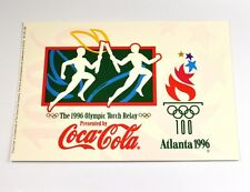 Coca-Cola Coca Cola Atlanta USA 1996 Olympia Torcia Corsa cartolina cartolina