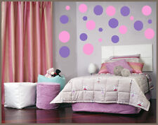 Vinyl wall art 216 Polka dots circles sticker decal
