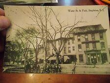 5x7 Photo Reprint Stapleton Water Street & Park New York City Nyc