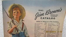 1942 Jim Brown's Catalog Farm Supply Fencing Tom Sawyer on Cover Young Boy & Dog