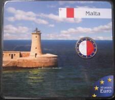 "MDS Malte 2 Euro 2009 ""UEM-EMU"", coloriert"