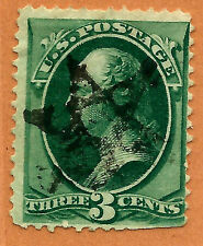 Late-19th C. US Stamp w/ Fancy Outlined 5-Pt STAR Cancel ~ Free Shipping....b7