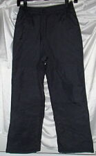 LL Bean Boys Black Snowboarding Snow Pants Youth 8 Small New