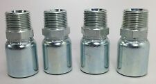 "Parker 101Hy 16 16 1"" Hydraulic Hose Fittings Set Of 4 New *Free Shipping*"