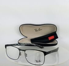 Brand New Authentic Ray Ban RB 8416 Eyeglasses RB8416 2503 Black Carbon Fibre