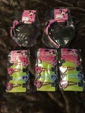 DISNEY Junior MINNIE MOUSE GIRL HAIR SNAP CLIPS  BOW-TIQUE  HEADBAND LOT