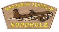 Patche écusson Nordholz zeppelin aviation patch thermocollant transfert