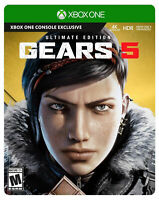 Gears 5 -- Ultimate Edition (Microsoft Xbox One, 2019)