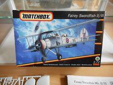 Modelkit Matchbox Fairey Swordfish II/III on 1:72 in Box